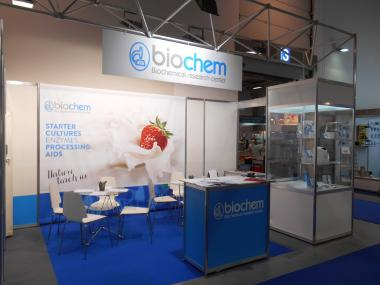 "Biochem takes part at the exhibition ""The World of Milk"" in Sofia  Bulgaria November 2014"