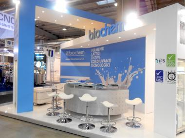 "Biochem takes part at the exhibition ""Cibus tec "" in Parma - October 2016"